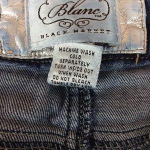White House Black Market Jeans - White House Black Market Blanc Jeans Flare Leg